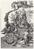 """Albrecht Durer (""""Triumph of the Emperor Maximilian I,"""" Block 1) Poster"""