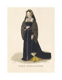 Mary of England Premium Giclee Print by Louis-Marie Lante