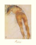 Femme Nue A Plat Ventre Premium Giclee Print by Auguste Rodin