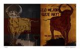 Vino Torro I Giclee Print by Mj Lew