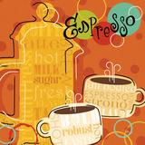 Funky Brew I Prints by  Pela