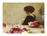 Pot Pourri Premium Giclee Print by Herbert James Draper