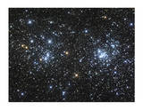 The Double Cluster Limited Edition by Robert Gendler