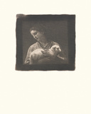 The Shepherdess Premium Giclee Print by William Adolphe Bouguereau