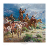 Prayers of the Pipe Carrier Prints by Martin Grelle