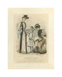 Le Moniteur De La Mode III Premium Giclee Print by E.S. Gaillard