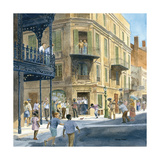 New Orleans Premium Giclee Print by Charles Shaw