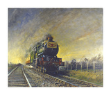 The Cheltenham Flyer Premium Giclee Print by Terence Cuneo