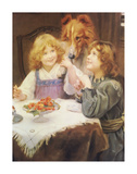 High Expectations Premium Giclee Print by Arthur Elsley