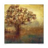 Goldener Baum Giclée-Druck von Elise Remender