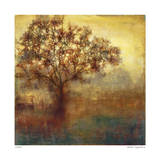 Golden Tree Giclee Print by Elise Remender