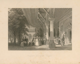 Reception RooM of the Seraglio Premium Giclee Print by Thomas Allom