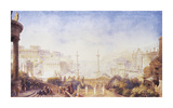 An Imaginative Reconstruction, Rome Premium Giclee Print by Sir James Pennethorne