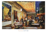 Caf&#233; Van Gogh Prints by Maria Zielinksa