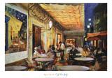 Café Van Gogh Prints by Maria Zielinksa