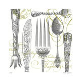 Tableware Giclee Print by Paula Scaletta