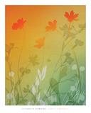 Kari's Garden II Prints by Elizabeth Downing