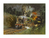 Port Line Premium Giclee Print by Terence Cuneo