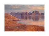 Lake Powell Pastel Sunset Giclee Print by Donald Paulson