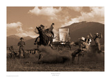 Bucking the Biscuits Print by Robert Dawson