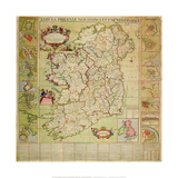 Tabula Hiberniae Novissima Et Emendatissima Premium Giclee Print by Henry Pratt