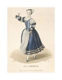 La Camargo Premium Giclee Print by Louis-Marie Lante