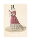 Marion de Lorme Premium Giclee Print by Louis-Marie Lante