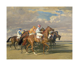 Lord Astor's High Stakes Premium Giclee Print by Sir Alfred Munnings