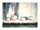 Blue/White China I Reproduction procédé giclée Premium par Jeremy Taylor