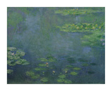Waterlilies III Premium Giclee Print by Claude Monet
