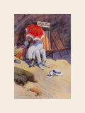 Thrift Premium Giclee Print by Percy Hickling