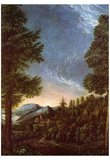 Albrecht Altdorfer (Danube landscape near Regensburg with the mountain Scheuch) Posters