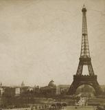 Historical Paris Poster par Cristin Atria