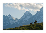 Into the Tetons Prints by Robert Dawson