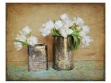 Vintage Tulips I Poster von Cristin Atria