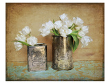 Vintage Tulips I Prints by Cristin Atria