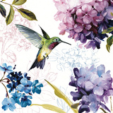 Spring Nectar Square II Poster von Lisa Audit