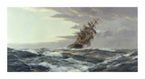 Clearing Skies Premium Giclee Print by Montague Dawson