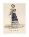 Mme de Montespan Premium Giclee Print by Louis-Marie Lante