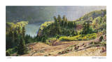 Bend in the River Giclee Print by David Jenks