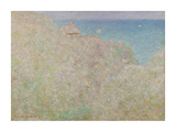 Cliffs at Varengeville, 1897 Premium Giclee Print by Claude Monet