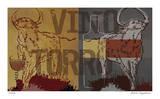Vino Torro II Giclée-tryk af Mj Lew