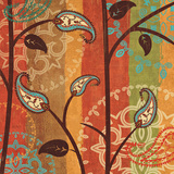 Paisley Garden II Prints by Veronique Charron