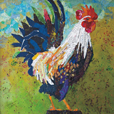 Report Card Rooster Prints by Elizabeth St. Hilaire Nelson