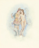 A Midsummer Night's Dream Act III Premium Giclee Print by Edouard Chimot