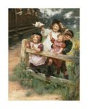 Home Again Premium Giclee Print by Arthur Elsley