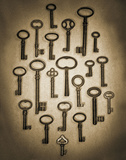 Key Elements II Poster von Heather Ross