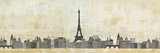 Eiffel Skyline Posters par Avery Tillmon