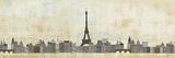 Eiffel Skyline Poster von Avery Tillmon
