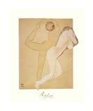 Deux Femmes Enlacees Premium Giclee Print by Auguste Rodin